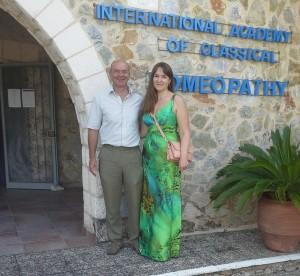Мой учитель доктор Эрик ван Вунсел (живёт и работает в Бельгии)