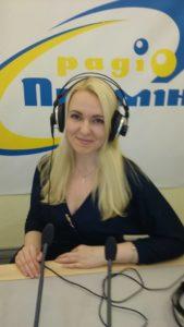 Вероника Князева в передаче Азбука реальності на Українському радіо